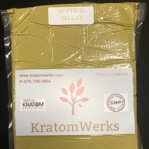 Super Green Malay Kratom Kilo